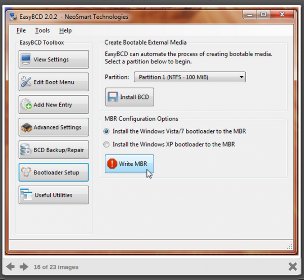 how to set up a windows boot usb