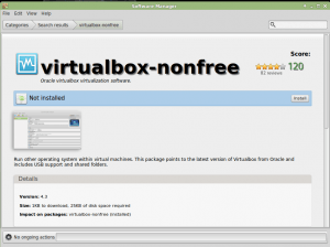 Software Manager Program VirtualBox How To