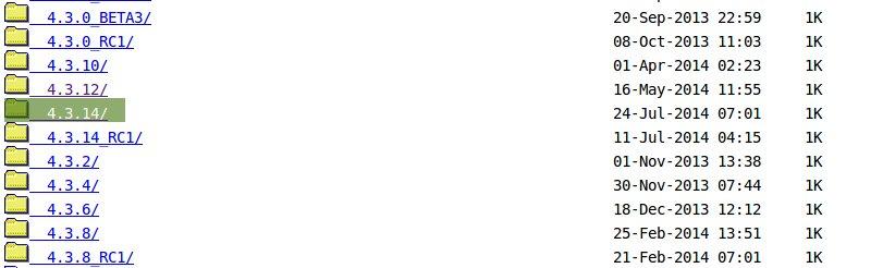 VirtualBox Index of Downloads