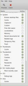 BleachBit Configure