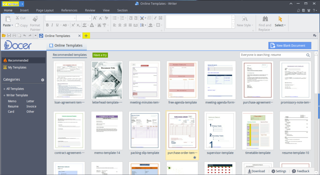 WPS-office-create-new-doc