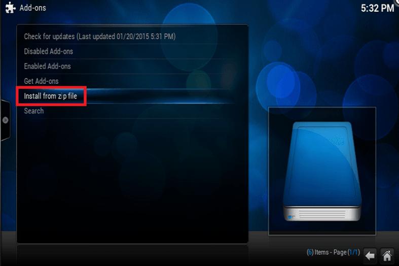 Installing XBMC Kodi