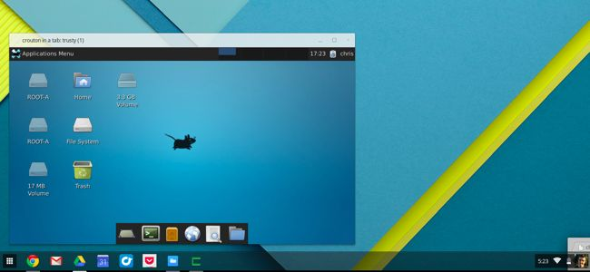 Run a Full Linux Desktop in a Browser Tab on Your Chromebook